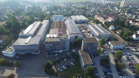 DIEFFENBACHER headquarters in Eppingen.