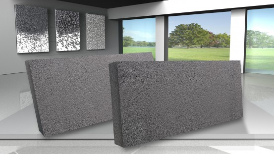 BASF introduces Neopor® BMB, a climate friendly produced insulation raw material. The certified biomass balance method (BMB) avoids 90 % CO2 emissions compared to the conventionally produced Neopor®. The first construction project was now executed with insulation boards made of Neopor® BMB.  Photo: BASF