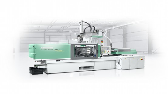 Arburg will show an LSR version of an Allrounder from the Golden Electric series for the first time at Chinaplas 2020. The electric machine produces high-quality LSR lenses for the automotive industry.