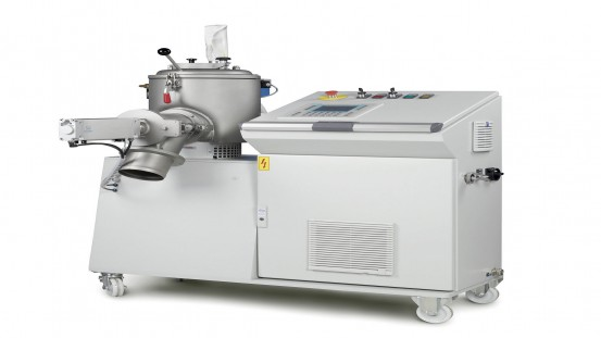 Solids 2020 will see MTI Mischtechnik showing its type M 10 laboratory mixer with its usable mixing vessel volume of up to 8 liters and optimisations for multipurpose use in the company's own R&D Center. © MTI Mischtechnik
