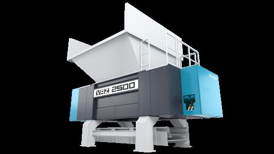 Nowy rozdrabniacz z serii VRZ jest wytrzymały, odporny na materiały obce, niezawodny i nie wymaga częstej konserwacji.
