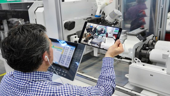 With remote machine acceptance, an Arburg sales expert will go through all requirements with the customer one by one with an iPad.