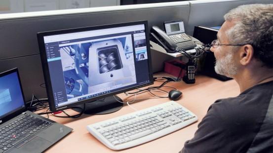 Image annotation at FEDDEM's service centre Photo: FEDDEM