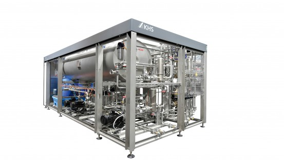The KHS Innopro BoxFlash flash pasteurizer tailored to the requirements of small and medium-sized breweries is now compatible with most container segments.