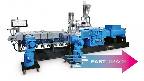 Coperion's Fast Track ZSK twin screw extruders can be delivered within five months, thus ensuring rapid return on investment (ROI).