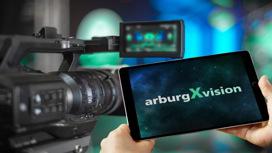Arburg will launch its new digital format arburgXvision on 28 January 2021, after which it will continue on a monthly basis.  Photos: ARBURG